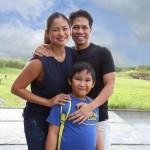 Miriam Quiambao with family